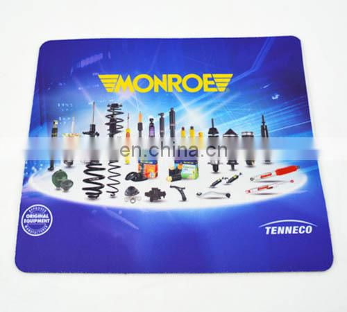 Factory direct brand printed mousepad rubber cloth