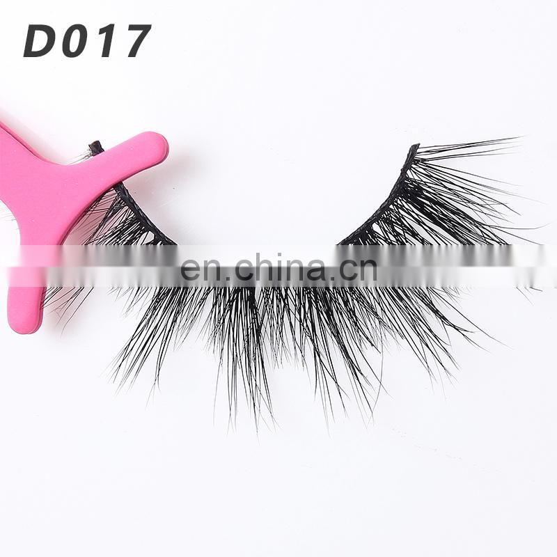 D017 Russian volume lashes private label luxury 3d Mink False eyelashes