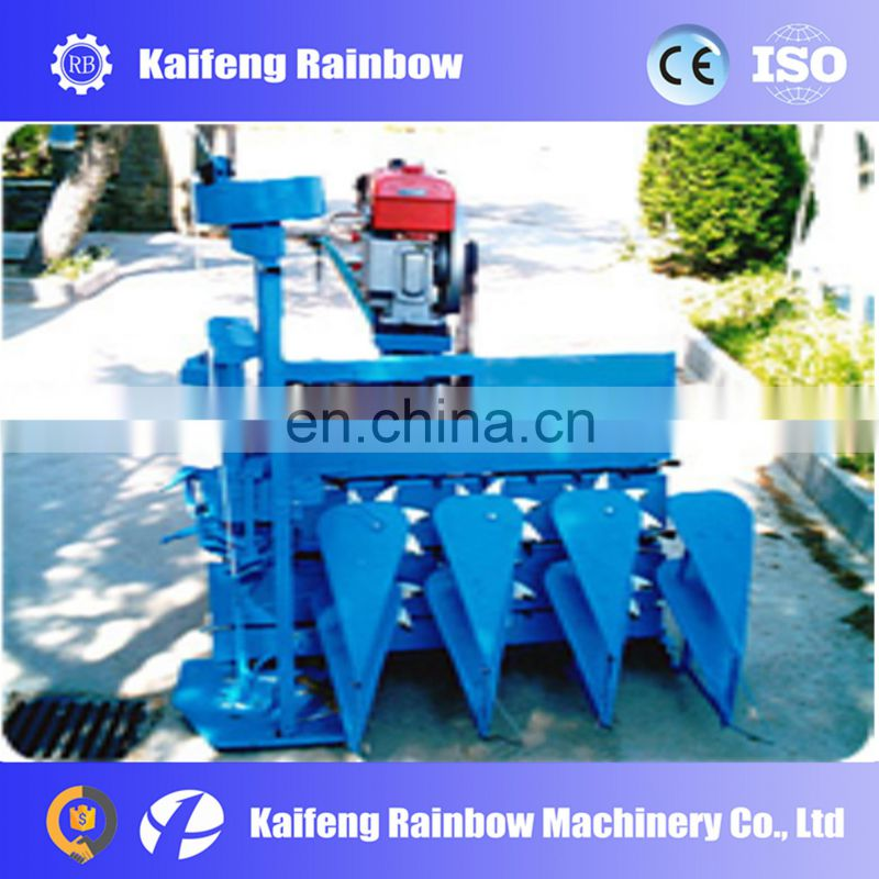 Stainless Steel Factory Price Working Width 0.8 m rice and wheat harvesting and bundling machine