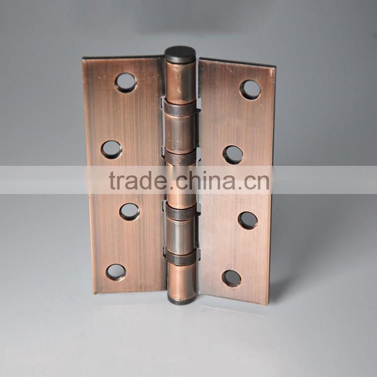 Pinghu Square Wooden Box Ball Bearing Hinge with Screw