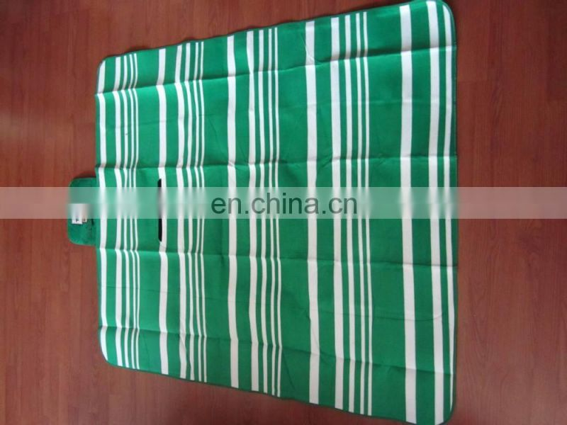 2016 hot sale picnic rug,waterproof rug,with handle