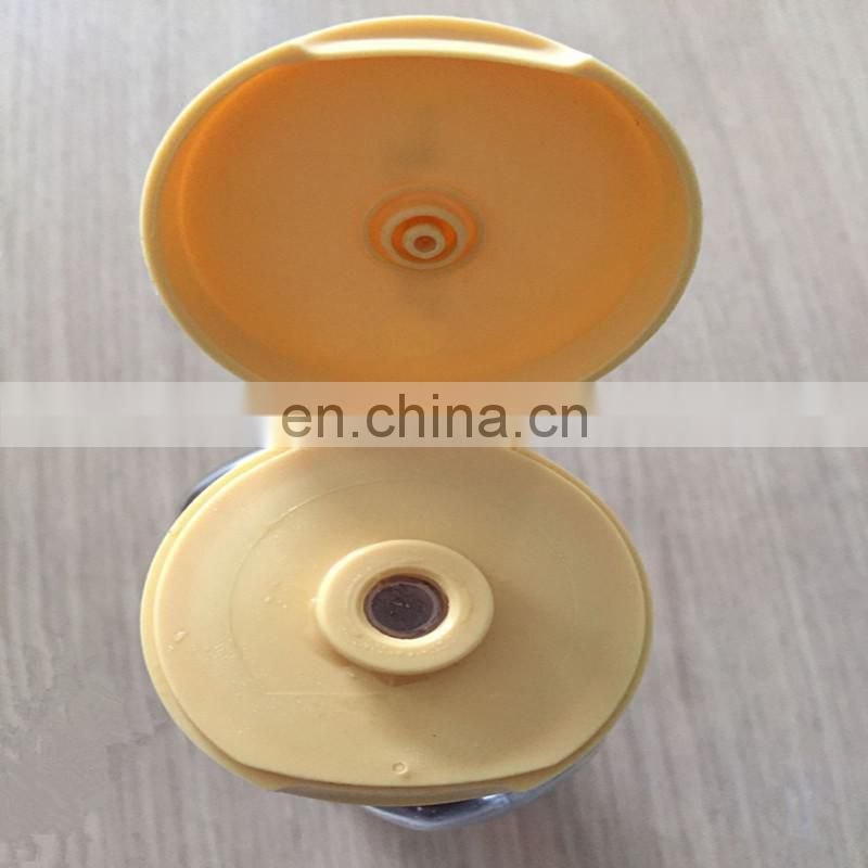 Different size 28/400 38/400 plastic flip top with silicone valve