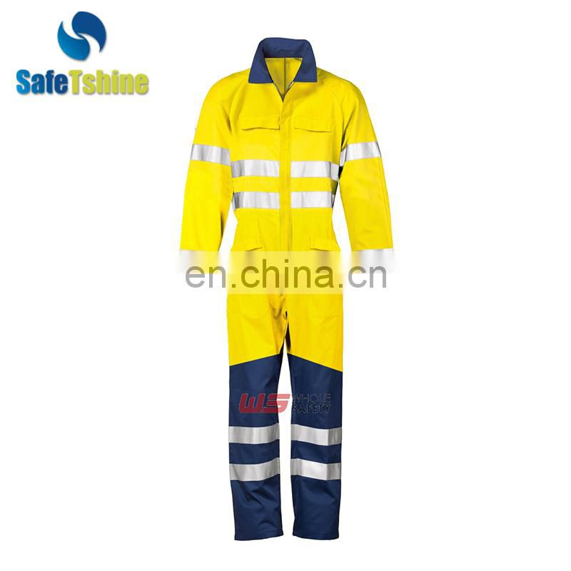 Factory Price Flame Retardant Protective Coverall Wholesale Workwear modacrylic Cotton Working