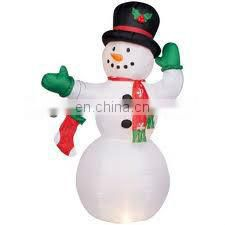 New Indoor Inflatable Christmas Snowman for family decoration