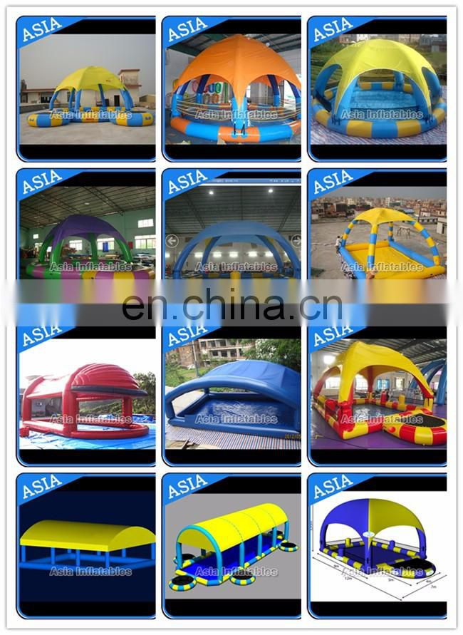PVC Durable square / rectangular shape Inflatable Swimming Pool for kids or adults