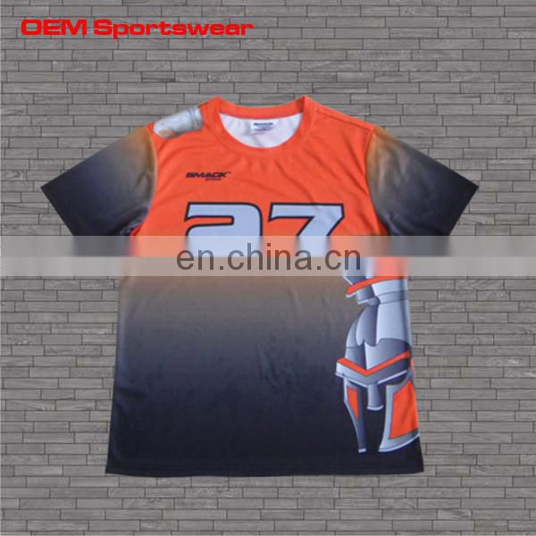 Latest customized round collar tshirt design