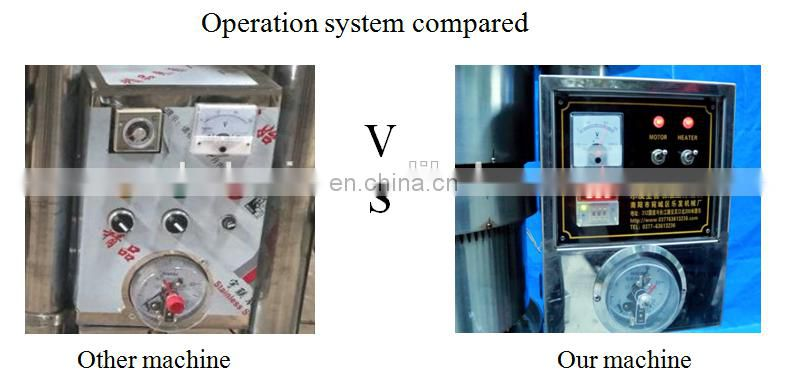 automatic oil press machine with high pressure