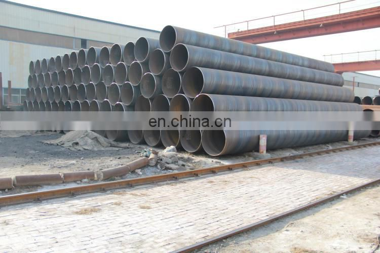 ASTM A252 Spiral Welded Steel Pipe Piles/ Penstock pipe for Hydropower