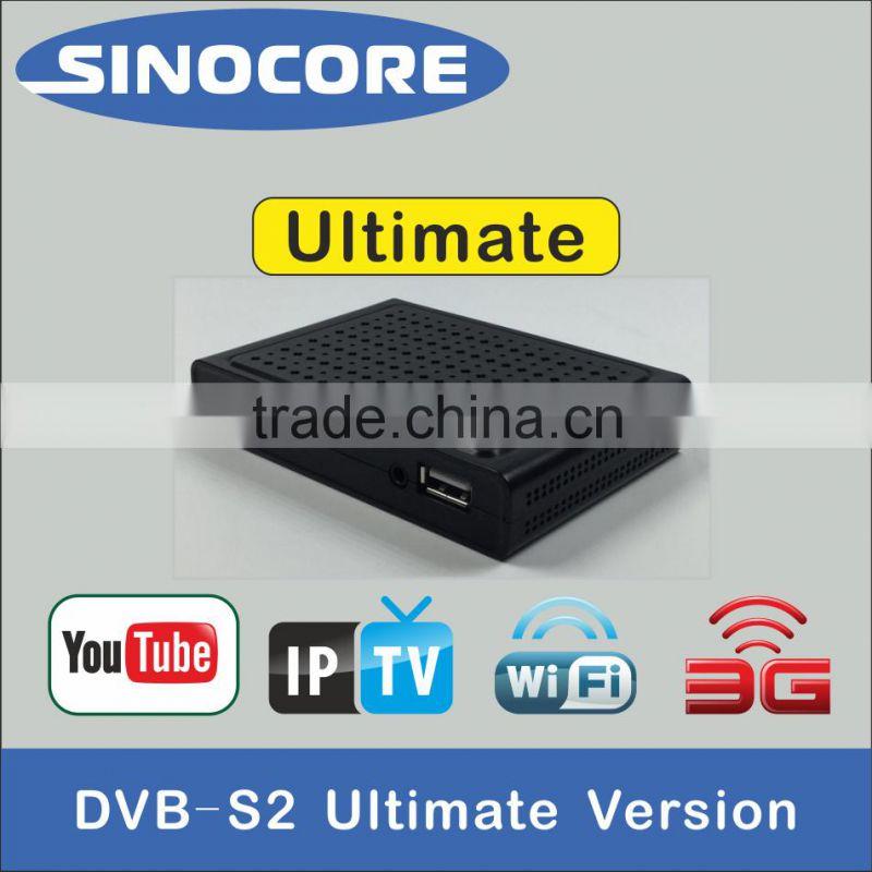 SKY E3 DVB-S2 HD RECEIVER WITH CAS/IPTV/WIFI/3G of DVB-S2