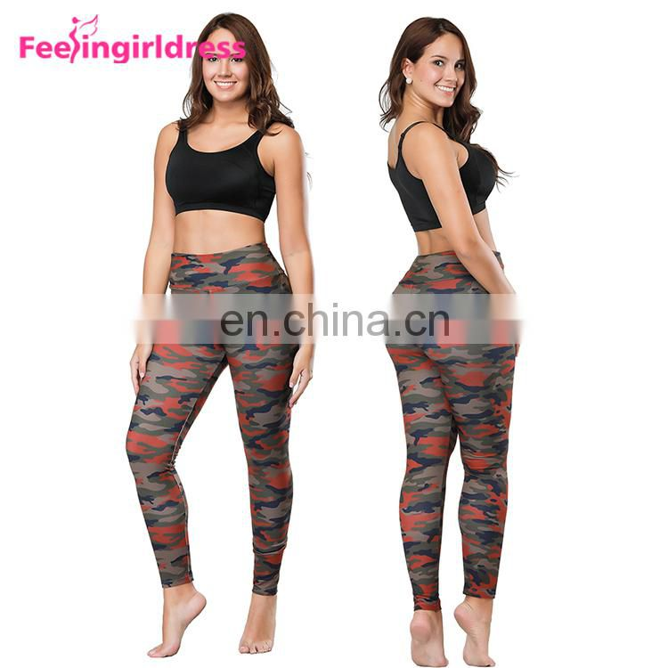 Factory Direct Sales Women Camouflage Seamless Leggings For Women Fitness Wholesale