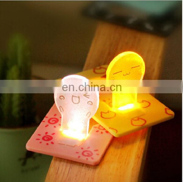Mini pocket led card light gloion light up card light led light card