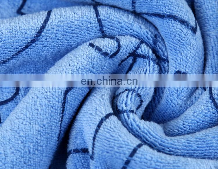 Excellent Absorption Printed Microfiber Nylon Bath Towel