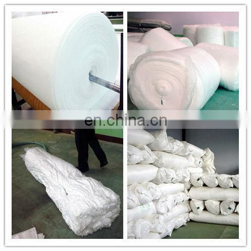 Silk-like polyester wadding for garment