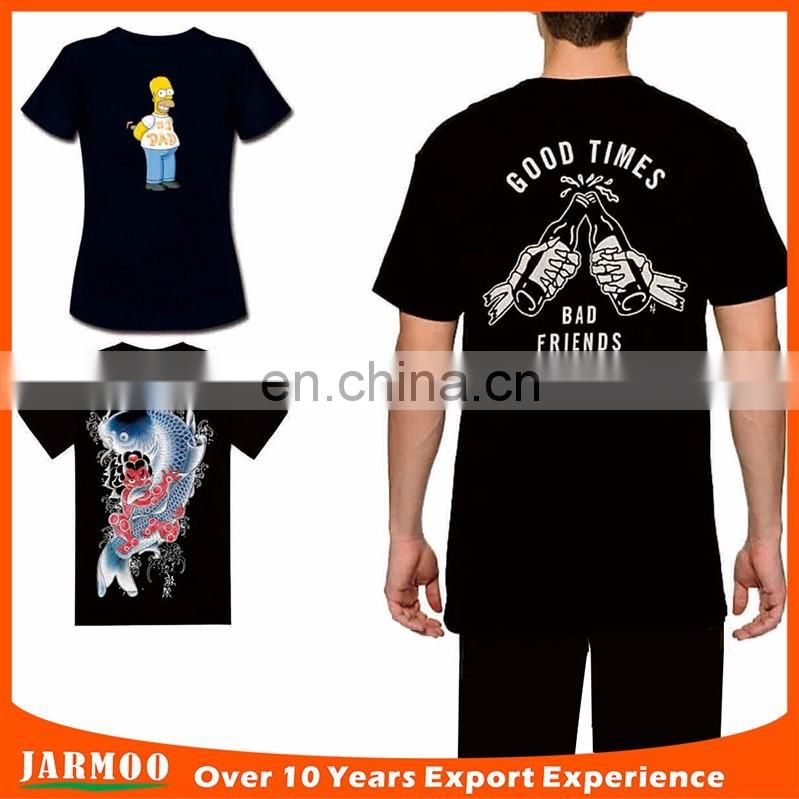 high quanlity customized factory promotion 60% cotton 40% polyester t-shirts