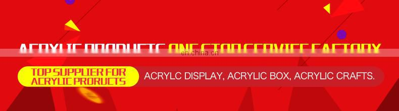 Clear LED light Cylindrical rotating display rack,Acrylic rotary display stand
