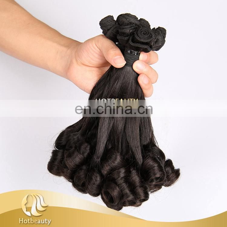 "Wholesale 8""-18"" Double Drawn Virgin Omber Spiral Curl Funmi Hair"