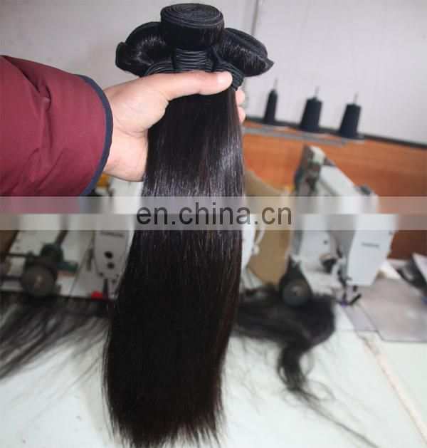 Full cuticle top quality virgin human hair fast shipping real mink brazilian hair