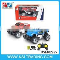 4CH 1/18 scale rc car remote control with light for kids