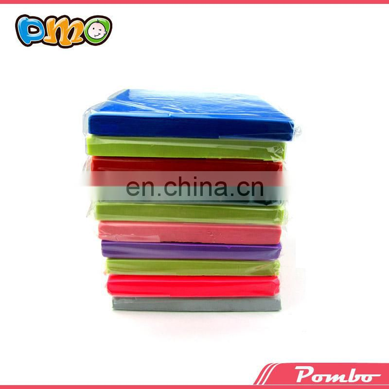 500g eco-friendly luminous color toy for kids polymer clay