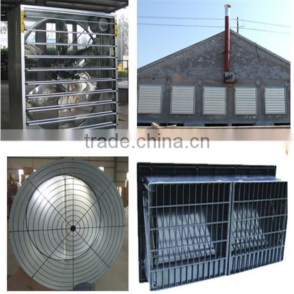 Broiler Chicken Automatic Silo/Pan Feeding/Nipple Drinking System