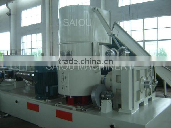 PP PE plastic granulator machine recycling
