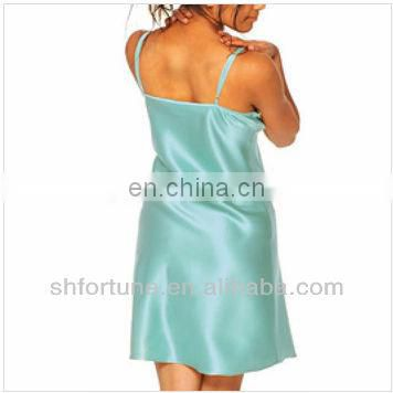 fashion nightwear sexy night dresses--100% silk