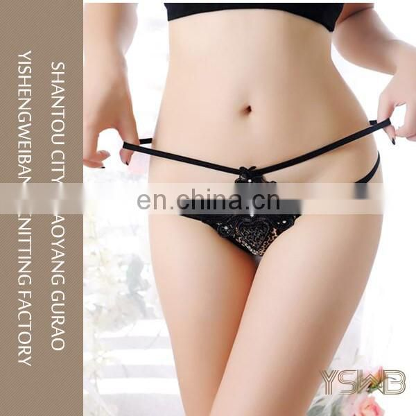 China online shopping dark balck cozy tight lovely female bra panty