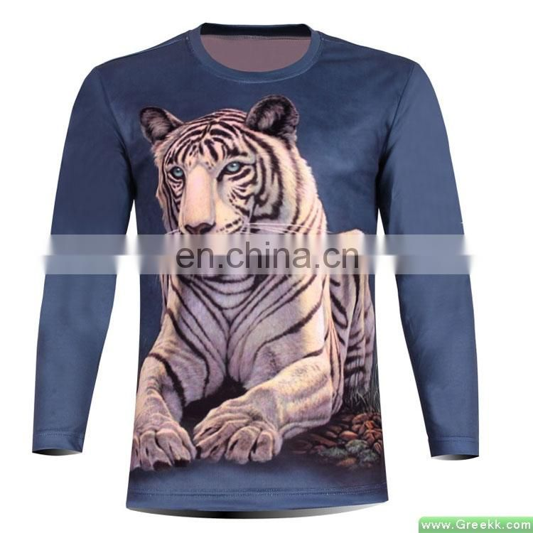 2015 china OEM custom mens elongated t shirt