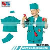 Novel design chenghai clothes suit doctor costume kids cosplay