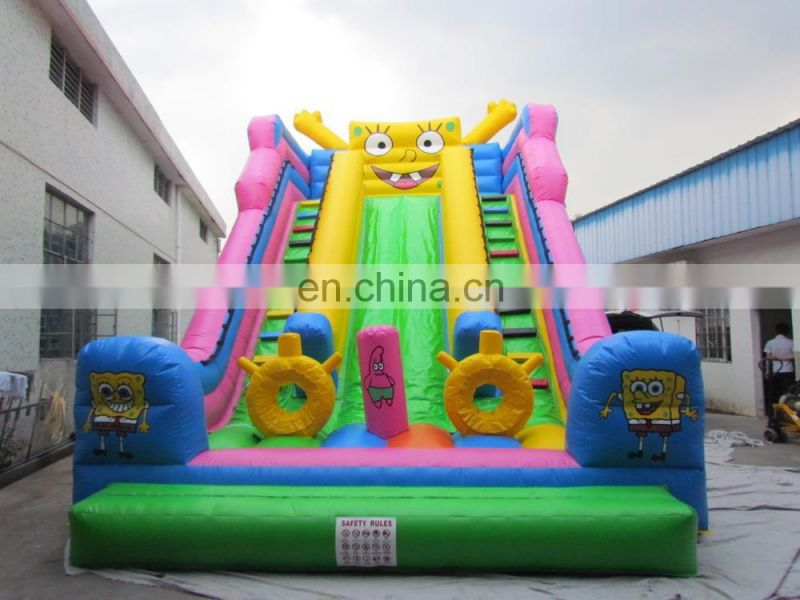 Custom inflatable pool slides for inground pools
