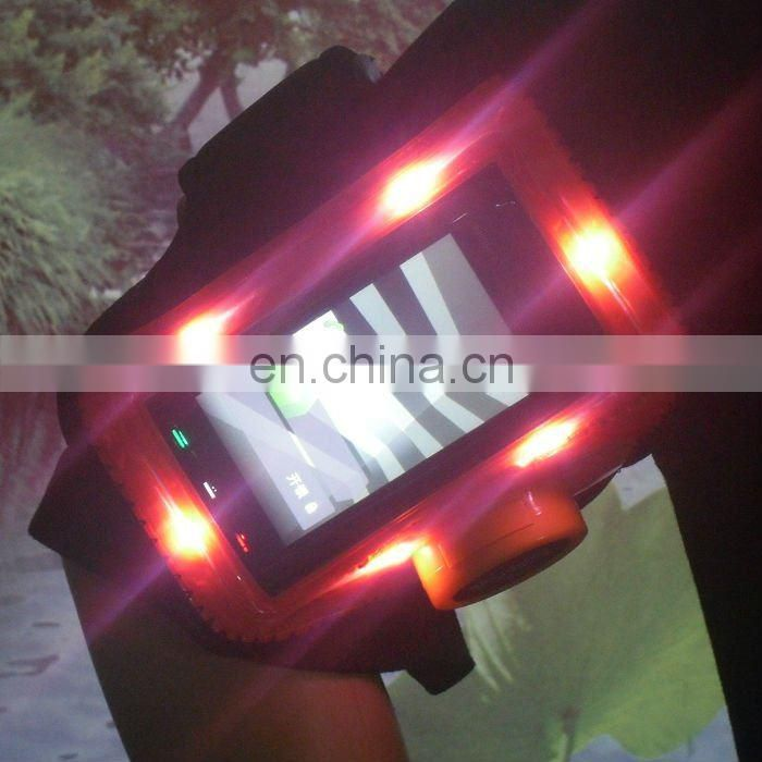 Popular Night jogging phone armband Neoprene Phone Recycle Armband sport phone armband with led light