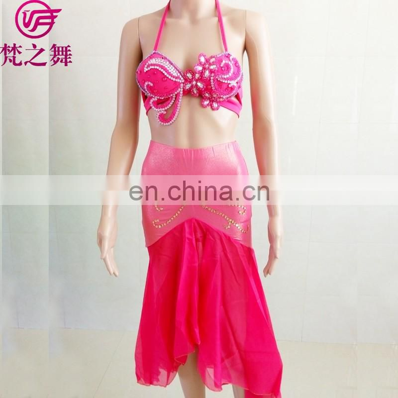 ET-134 Latest designed lovely sexy children belly dance costumes