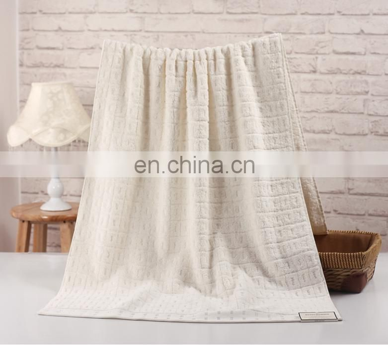 China manufacturer high quality long loop 100% cotton hotel bath towel