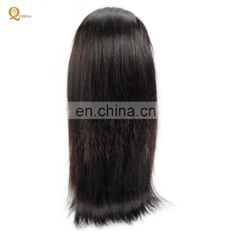 Newest Design Cheap Human Hair Wigs 360 Lace Wig Half Hand Tied Lace Wigs
