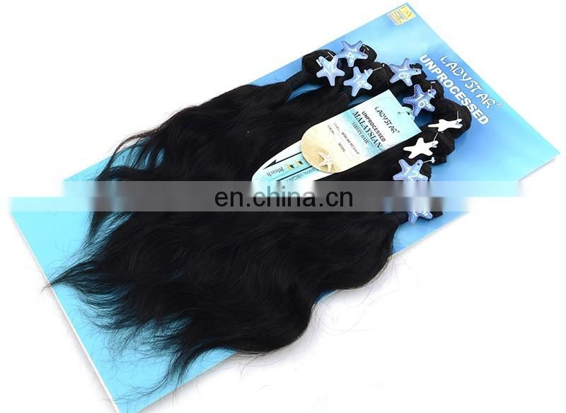 100% human hair virgin malaysian hair bundles natural hair extension