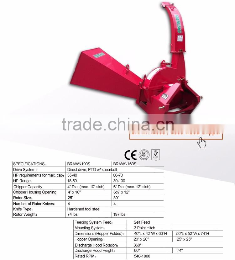 New design wood chipper brands for wholesales of Wood