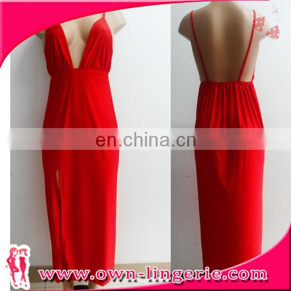 red erotic ladie sexy evening gown latest-gown-designs