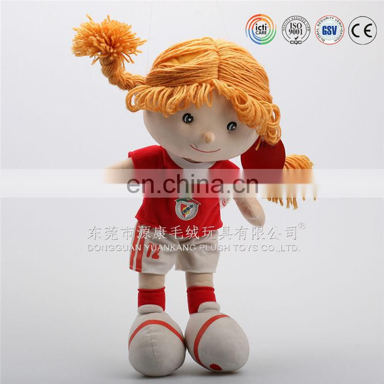 Dongguan plush factory custom chubby santa speaker doll