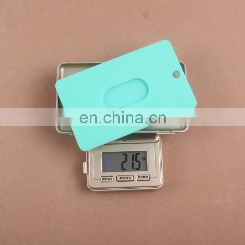 Colorful Hard Plastic ID Card Holder/Plastic Card/Card Holders