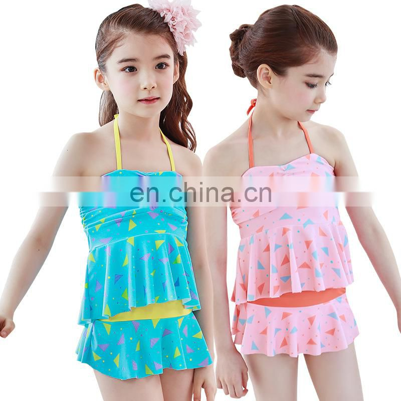 Bikini Cute watermelon Child swimsuit Split swimwear bathing suit for kids baby girls swimwear