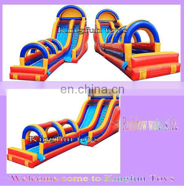 2013 Top quality inflatable pool slide for rent