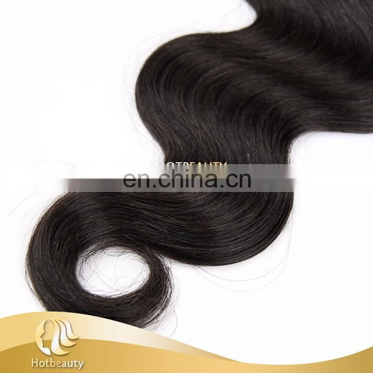 virgin body wave brazilian hair bundlesTangle free can be dyed