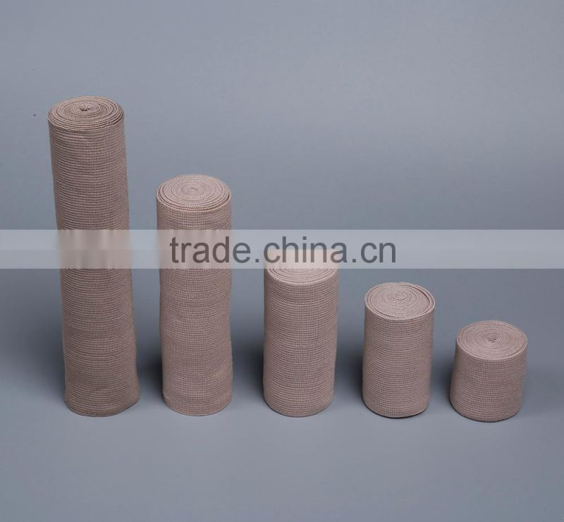 YD30146 China supplier Breathable Latex Skin color Surgical Dressing High Elastic Bandage