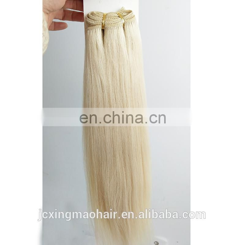 Juancheng Factory Wholesale 613 Blonde Human Hair Extensions Sew in Weave