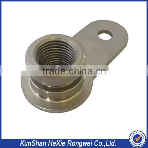 China Customized stainless steel metalworking small metal works for tractor spare parts
