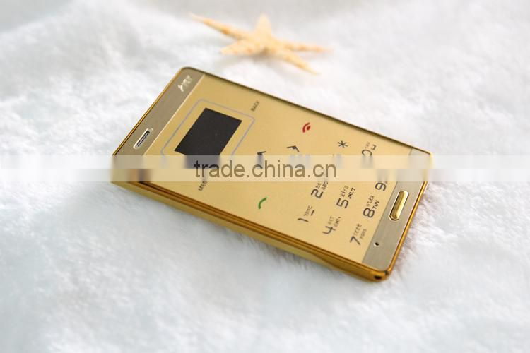 6.5mm slim M3 Card mobile phone, AIEK mini Phone Low Radiation FM MP3