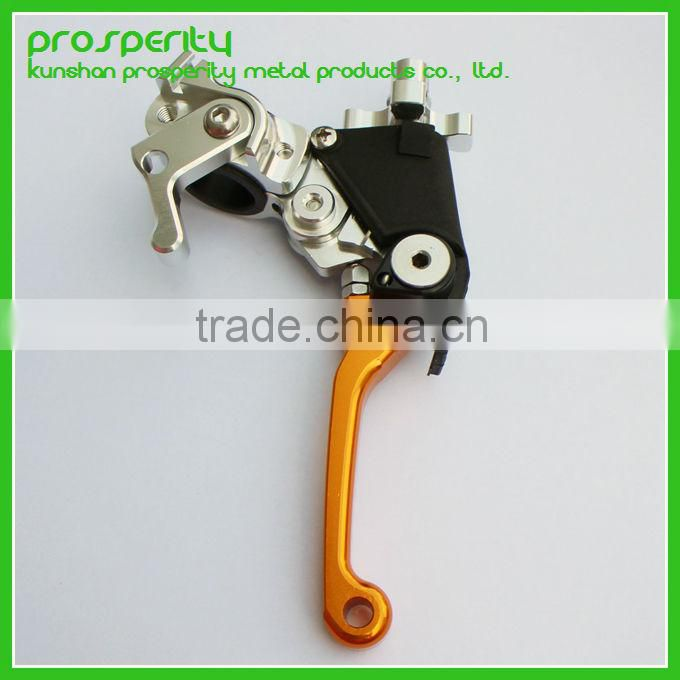 CNC aluminum parts Adjustable Extendable Folding Motorcycle Brake Clutch Levers For Yamaha