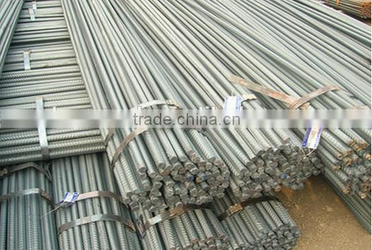 Low Price Thread Screw Reinforced Deformed Steel Rebar/Iron Rods For Construction/Concrete Material