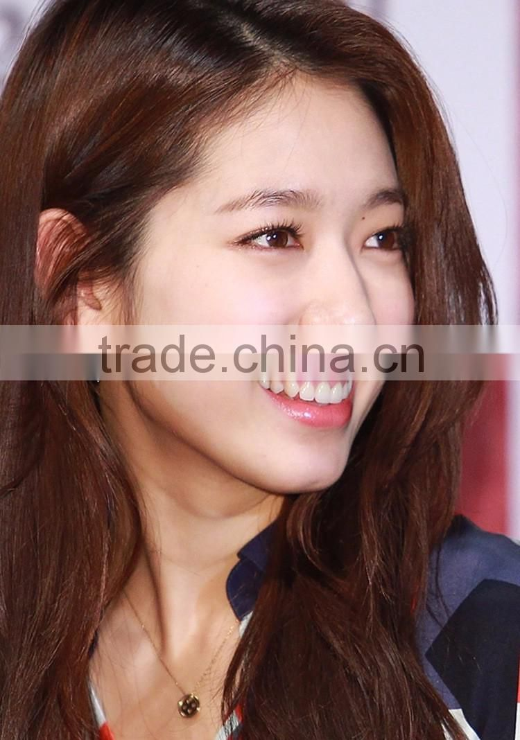 Lucky Buttons Real 18k Gold Plated Jewelry Korean Park Shin Hye