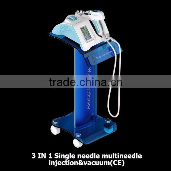 Micro needle mesotherapy, water injection beauty machine, water mesotherapy device